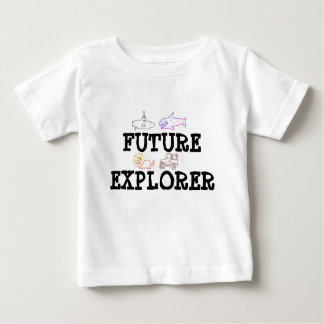 Toddler girl/boy t-shirt for future explorer