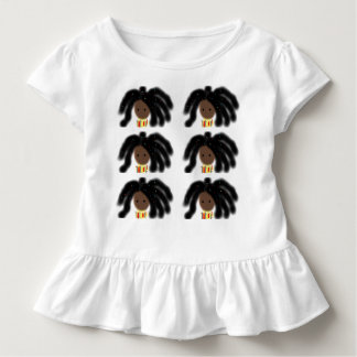 Toddler Girl Ruffled T-Shirt