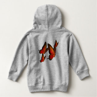 Toddler Girls Butterfly Hoodie
