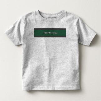 Toddler Gray/Green HAMbyWhiteGlove Fine Jersey T Toddler T-Shirt