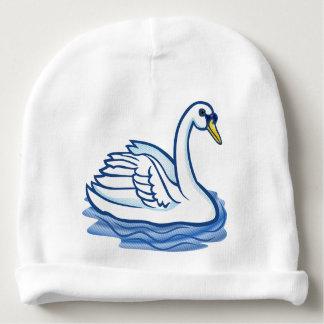 Toddler Hat - Blue Swan Baby Beanie