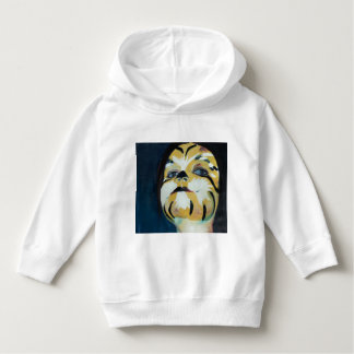 Toddler hoodie/ pullover white with Tiger
