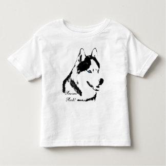 Toddler Husky Shirt Rescue Dog Husky Baby T-shirt