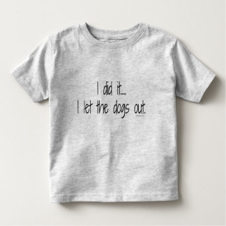 Toddler I Did It Tee
