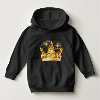 Toddler I'm Growing In To My Crown Pullover Hoodie
