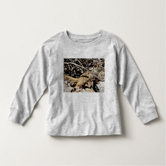Toddler Long Sleeve Tee Shirt - Sonoran Squirrel