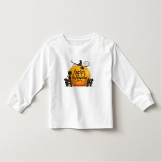 toddler, long sleeve, white, shirt, customise toddler T-Shirt