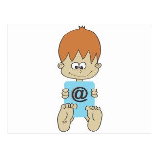 Toddler Postcard