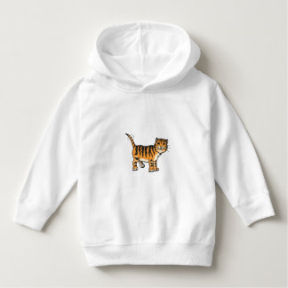 Toddler Pullover Cat Hoodie