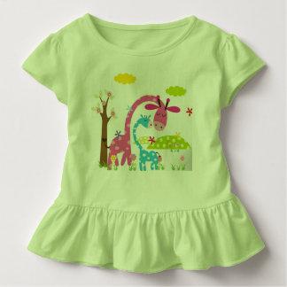 Toddler Ruffle green Tee
