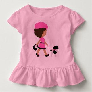 Toddler Ruffle Pink Tee