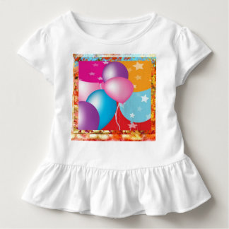 Toddler Ruffle Tee DIY easy add PHOTO IMAGE n TEXT