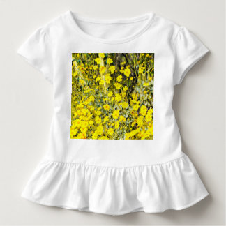 Toddler Ruffled Tee in Wildflower