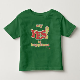 Toddler 'Say Yes To Happiness' T-Shirt