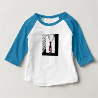 toddler shirt 'n tie tee by DAL