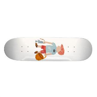 Toddler Summer Nantucket Holiday Boy Fisherman 20 Cm Skateboard Deck