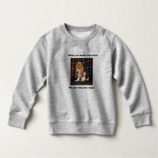 Toddler sweatshirt Basset Hound