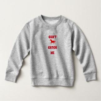 Toddler sweatshirt for horse lover