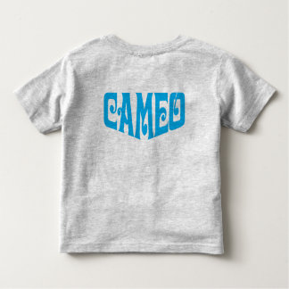 Toddler T-shirt with Blue Cameo Logo
