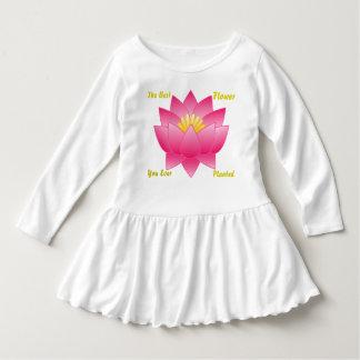 Toddler The Best Flower Ruffle Dress