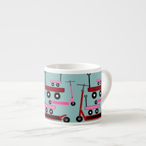 Toddler Transportation Red Pink Scooters Wagons Espresso Mugs