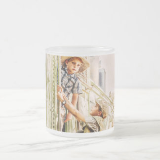 Toddler Tunes Frosted Glass Mug