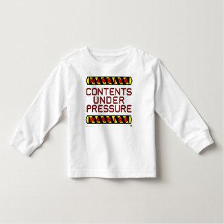 """Toddler """"Under Pressure"""" Long Sleeve Tee"""