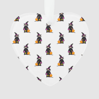 Toddler Witch Trick or Treat Repeat Pattern