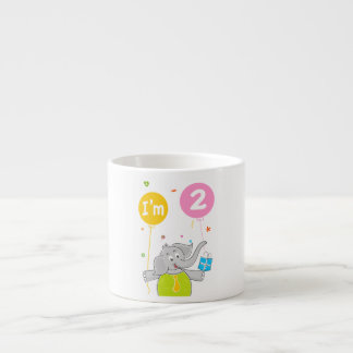Toddler's 2nd Birthday Espresso Cup