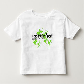Toddlers Boy or Girl Rock n Roll T Shirt