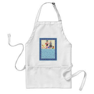 Toddlers Creed Standard Apron