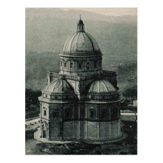 Todi Basilica church Replica 1921 Postcard