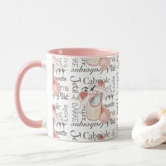 Toe Shoes Ballerina Ballet Art Coffee Mug