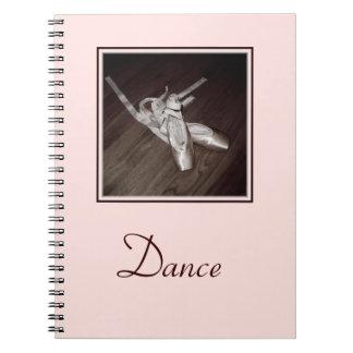 'Toe Shoes' Spiral Notebook/Journal Notebook