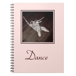 'Toe Shoes' Spiral Notebook/Journal Notebooks