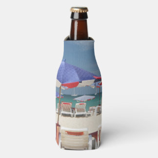 Toes in the Sand Custom Bottle Cooler