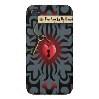 Toffee Apple Heart - Valentine Gift iPhone 4/4S Cover