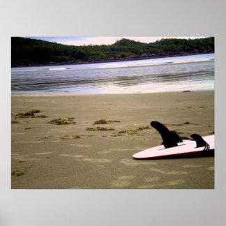 Tofino Beach Poster