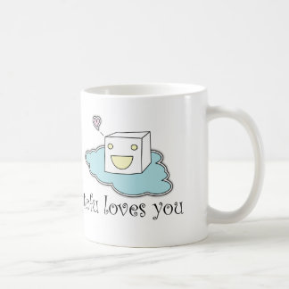 Tofu Loves You Coffee Mug