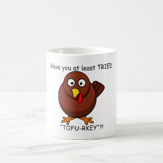 Tofu-rkey Turkey Coffee Mug