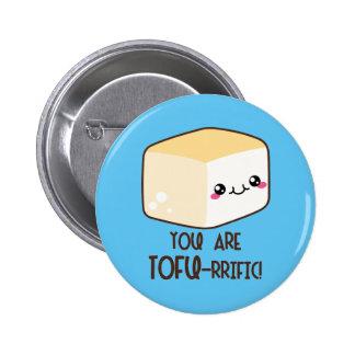 Tofu-rrific Emoji 6 Cm Round Badge