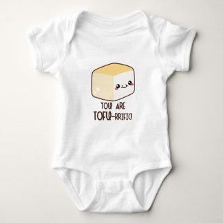 Tofu-rrific Emoji Baby Bodysuit