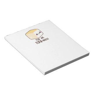 Tofu-rrific Emoji Notepad
