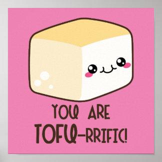 Tofu-rrific Emoji Poster