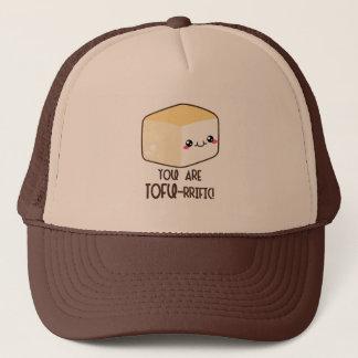 Tofu-rrific Emoji Trucker Hat