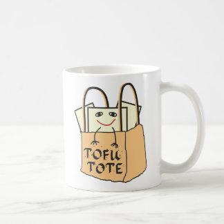TOFU TOTE for Vegetarians and Vegans Basic White Mug