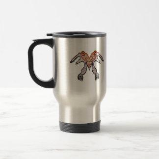 TOGATOGA Crocodile Monster by Navin Stainless Steel Travel Mug