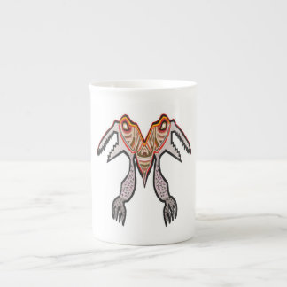 TOGATOGA Crocodile Monster by Navin Porcelain Mugs