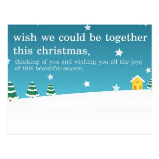 Together At Christmas Postcard
