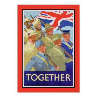 Together: British Commonwealth Poster